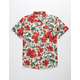 SALTY CREW Hooked Floral Boys Shirt