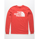 THE NORTH FACE Half Dome Mens Burnt Red T-Shirt