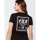FOX Speed Thrills Womens V Neck Tee