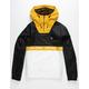 VOLCOM Fezzes Mens Yellow Windbreaker Jacket