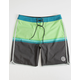 RIP CURL Highway 69 Mens Lime Boardshorts