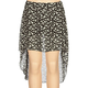 FULL TILT Skull Print Girls Hi Low Skirt