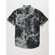 RVCA Freeze Mens Tie Dye Button Up Shirt