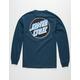 SANTA CRUZ Other Dot Mens Navy T-Shirt