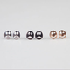 FULL TILT 3 Pair Happy Face Earrings