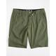 FOX Essex Tech Mens Olive Hybrid Shorts