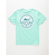 SALT LIFE Forecast Mens Pocket Tee