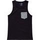 BLUE CROWN Illusion Pocket Boys Tank