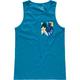 BLUE CROWN Aloha Pocket Boys Tank