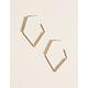WEST OF MELROSE Geometric Pearl Earrings