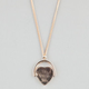 FULL TILT He Loves Me Flip Pendant Necklace