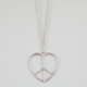 FULL TILT Heart Peace Necklace