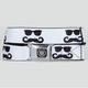 BUCKLE-DOWN Caddie Sunglass Mustache Buckle Belt
