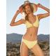 FULL TILT Textured Palm Skimpy Bikini Bottoms