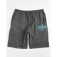 VOLCOM Rainmaker Mens Dark Gray Sweat Shorts