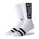 STANCE OG Mens White Crew Socks