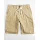 LRG Choppa Mens Khaki Shorts