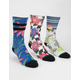 STANCE 3 Pack Waipoua Floral Mens Crew Socks