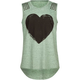 FULL TILT Heart Stud Girls Muscle Tank