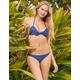 FULL TILT Midnight Blue Push Up Bikini Top