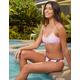 FULL TILT Lavender Pullover Bralette Bikini Top