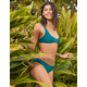 FULL TILT Cutout Bralette Emerald Bikini Top