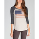 BILLABONG Peace Nation Womens Baseball Tee