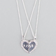 FULL TILT 2 Piece Love Heart Necklace
