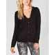 FULL TILT Lace Back Womens Cardigan
