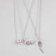 FULL TILT 3 Piece Love/Wing/Fireball Necklaces