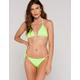FULL TILT Tie Side Neon Green Skimpy Bikini Bottoms