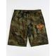 VOLCOM Hailmaker Mens Camo Sweat Shorts