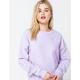 CHAMPION Reverse Weave Womens Lilac Sweatshirt