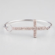 FULL TILT Rhinestone Cross Hook Bracelet