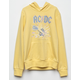 WHITE FAWN ACDC Girls Hoodie