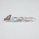 FULL TILT 5 Piece Bird/Bow/Turquoise Rings