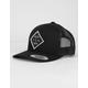 SALTY CREW Tippet Mens Black Trucker Hat