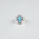 FULL TILT Turquoise Cross Ring