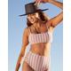 FULL TILT Pucker Up Square Bralette Bikini Top