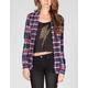 FULL TILT Womens Mixed Flannel Shirt