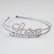 FULL TILT Rhinestone Love Wire Headband