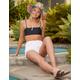 FULL TILT Black Bandeau Bikini Top