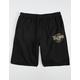 VOLCOM Rainmaker Mens Black Sweat Shorts
