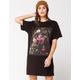 FULL TILT Floral Screen T-Shirt Dress