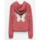 WHITE FAWN Butterfly Girls Hoodie