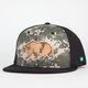 SO CAL Camo Grizzly Mens Snapback Hat