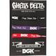 DGK Ghetto Shoelace Belts