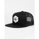 RIP CURL Bear California Mens Black Trucker Hat