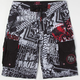 METAL MULISHA D-Lush IV Mens Boardshorts