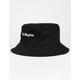 BLUE CROWN Los Angeles Black Bucket Hat